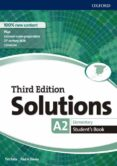 SOLUTIONS 3RD EDITION ELEMENTARY. STUDENT S BOOK - 9780194523639 - VV.AA.