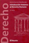 introduccion historica al derecho romano-juan de churruca-9788415759539
