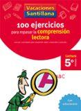5 VACACIONES COMPRENSION LECTORA (EDUCACION PRIMARIA) - 9788429409239 - VV.AA.