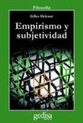 EMPIRISMO Y SUBJETIVIDAD (2ª ED.) - 9788474320039 - GILLES DELEUZE