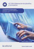ELABORACIÓN DE PLANTILLAS Y FORMULARIOS. IFCD0110 (EBOOK) - 9788416351749 - SANDRA CABELLO JURADO