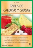 TABLA DE CALORIAS Y GRASAS - 9788425515149 - ULRICH KLEVER