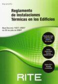 REGLAMENTO DE INSTALACIONES TERMICAS EN LOS EDIFICIOS RITE 2013 - 9788428395649 - VV.AA.