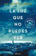 LA LUZ QUE NO PUEDES VER - 9788466333849 - ANTHONY DOERR