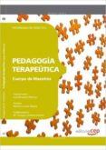 CUERPO DE MAESTROS. PEDAGOGÍA TERAPEÚTICA. PROGRAMACIÓN DIDÁCTICA - 9788468143149 - VV.AA.