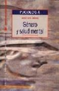 GENERO Y SALUD MENTAL - 9788470308949 - ISABEL CARO GABALDA
