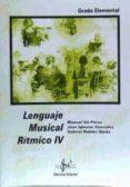 lenguaje musical ritmico iv (grado elemental)-manuel gil perez-jose iglesias gonzalez-9788495262349