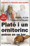 PLATO I UN ORNITORRINC ENTREN EN UN BAR... - 9788496735149 - THOMAS CATHCART
