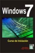 WINDOWS 7. CURSO DE INICIACION - 9788415033059 - JAIME BLANCO