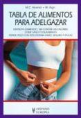 TABLA DE ALIMENTOS PARA ADELGAZAR - 9788425516559 - M. C. AIRAINER