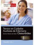 TÉCNICO EN CUIDADOS AUXILIARES DE ENFERMERÍA. SERVICIO NAVARRO DE SALUD-OSASUNBIDEA. TEMARIO VOL. I. - 9788468158259 - VV.AA.