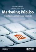 MARKETING PUBLICO: INVESTIGACION, APLICACIONES Y ESTRATEGIA - 9788473568159 - RAMON RUFIN MORENO