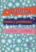 QUIMICA: TEORIA Y PROBLEMAS - 9788473601559 - JOSE MARIA TEIJON RIVERA
