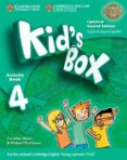 KID S BOX ESS 4 2ED UPDATED WB/CD ROM/HM BOOKLET - 9788490369159 - VV.AA.