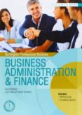 GS - BUSINESS ADMINISTRACIÓN & FINANCE STUDENTS BOOK - 9789963510559 - VV.AA.