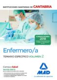 ENFERMERO/A DE LAS INSTITUCIONES SANITARIAS DE CANTABRIA: TEMARIO ESPECIFICO (VOL. 2) - 9788414214169 - VV.AA.