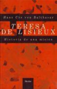 TERESA DE LISIEUX - 9788425400469 - HANS URS VON BALTHASAR