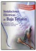 INSTALACIONES ELECTRICAS DE BAJA TENSION - 9788428328869 - VV.AA.