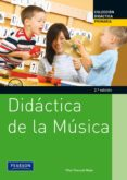 DIDACTICA DE LA MUSICA - 9788483227169 - PILAR PASCUAL MEJIA