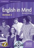 ENGLISH IN MIND FOR SPANISH SPEAKERS LEVEL 3 WORKBOOK WITH CD - 9788483234969 - VV.AA.