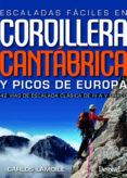 ESCALADAS FACILES CORDILLERA CANTABRICA Y PICO DE EUROPA: 42 VIAS DE ESCALADA CLASICA DE III A V GRADO - 9788498293869 - CARLOS LAMOILE