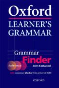 OXFORD LEARNER S GRAMMAR: FINDER AND CHECKER (INCLUYE CD) - 9780194375979 - JOHN EASTWOOD