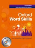 OXFORD WORD SKILLS INTERMEDIATE STUDENT S BOOK WITH CD-ROM - 9780194620079 - R GAIRNS