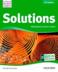 SOLUTIONS ELEM STUDENT BOOK 2 - 9788467381979 - VV.AA.