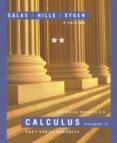 CALCULUS (VOL. II): UNA Y VARIAS VARIABLES (4ª ED.) - 9788429151589 - GARRET J. ETGEN