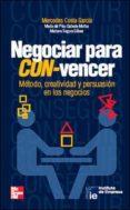 NEGOCIAR PARA CON-VENCER - 9788448129989 - MERCEDES COSTA GARCIA