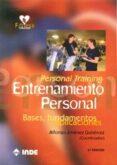 ENTRENAMIENTO PERSONAL (PERSONAL TRAINING): BASES, FUNDAMENTOS Y APLICACIONES (3º ED) - 9788497292689 - ALFONSO JIMENEZ GUITERREZ