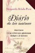 DIARIO DA TUA AUSENCIA (INCLUYE MP3) - 9789895552689 - MARGARIDA REBELO PINTO