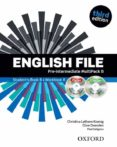 ENGLISH FILE THIRD EDITION PRE-INTERMEDIATE: MULTIPACK B WITH ITUTOR AND ICHECKER - 9780194598699 - VV.AA.