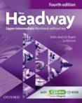 NEW HEADWAY: UPPER-INTERMEDIATE FOURTH EDITION: WORKBOOK + ICHECKER WITHOUT KEY - 9780194718899 - VV.AA.