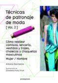 TECNICAS DE PATRONAJE DE MODA VOL. 2 - 9788415967699 - ANTONIO DONNANNO