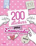 (PE) 200 STICKERS PARA ENAMORADOS - 9788448022099 - VV.AA.