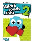 valors socials i cívics 2º educacion primaria valencia ed 2018 comunidad valenciana-carmen pellicer iborra-9788469840399