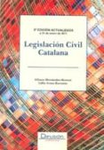 LEGISLACION CIVIL CATALAN 3ª ED. - 9788492656899 - ALFONSO HERNANDEZ MORENO