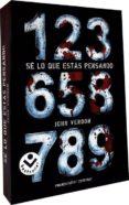 SE LO QUE ESTAS PENSANDO - 9788492833399 - JOHN VERDON