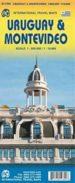 uruguay 2010 (1:800000) montevideo (1:10000)-9781553412809