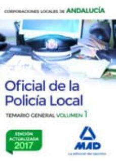 Srazceskychbohemu.cz Oficial De La Policia Local De Andalucia: Temario General (Vol. 1 ) Image