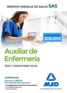 auxiliar enfermeria del servicio andaluz de salud. test y casos practicos-9788414216309