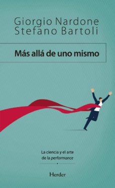 Libros electrónicos descargados legalmente MAS ALLA DE UNO MISMO. LA CIENCIA Y EL ARTE DE LA PERFORMANCE (Spanish Edition) iBook