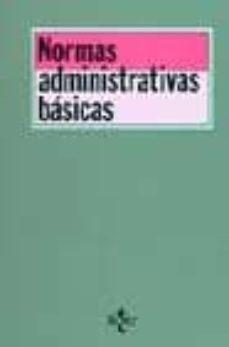Milanostoriadiunarinascita.it Normas Administrativas Basicas (14ª Ed.) Image
