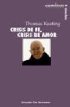 crisis de fe, crisis de amor-thomas keating-9788433016409