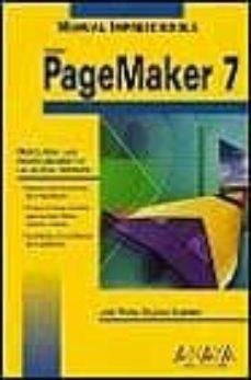 Lofficielhommes.es Pagemaker 7 (Manuales Imprescindibles) Image