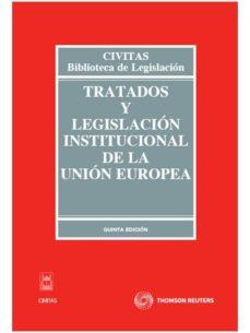Ojpa.es Tratados Y Legislacion Institucional De La Union Europea (5ª Ed) Image