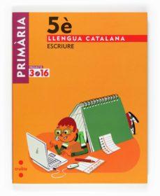 Inmaswan.es Llengua Catalanaescriure Projecte 3.16 5º Primaria Image
