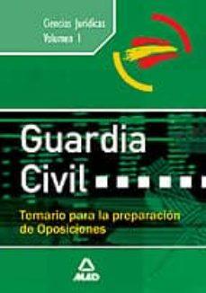 Debatecd.mx Guardia Civil: Temario (Vol. I) Image