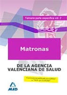 Chapultepecuno.mx Matronas De La Agencia Valenciana De Salud. Temario Parte Especifica Vol. Ii Image